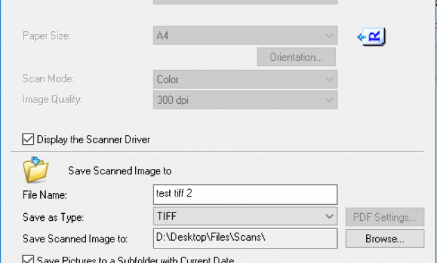 Canon MF Scan Toolbox