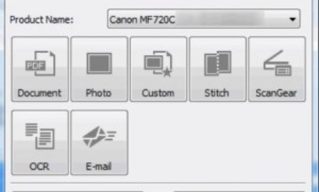 MF Scan Utility Download